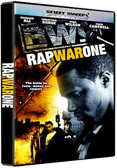 DVD:RAP WAR ONE - NEW Region 2 UK