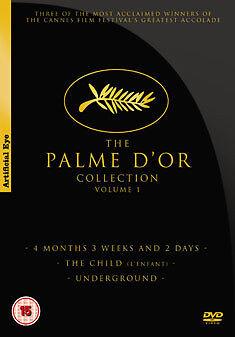 PALME D`OR COLLECTION - VOLUME 1 - DVD - REGION 2 UK