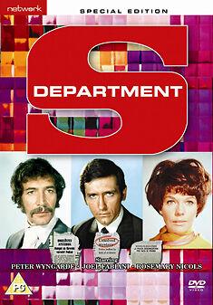 DEPARTMENT S - COMPLETE SERIES  - DVD - REGION 2 UK