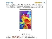 Samsung tablet 4 16g