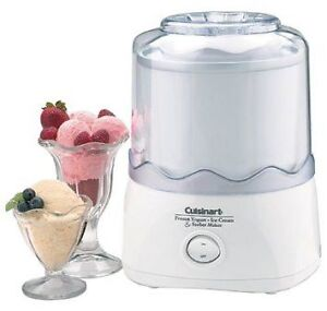 Cuisinart Ice cream maker grey black - Lightly Used - Yum! West Island Greater Montréal image 1