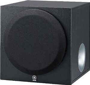 Yamaha 8-Inch Front-firing Active Subwoofer- NEW in box