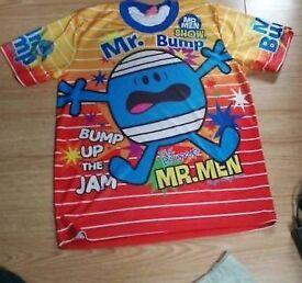 Mr bump t-shirt top 7-9yrs