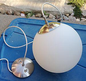 Globe Pendant Lights - Used