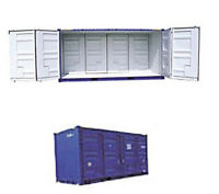 Side-Open Storage Container