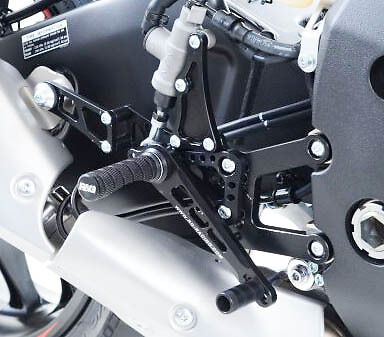 RG RACING ADJUSTABLE REARSETS TO FIT <em>YAMAHA</em> YZF R1 2015   2017