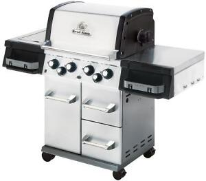 """New - Broil King """"Imperial 490 SS"""" Propane BBQ"""