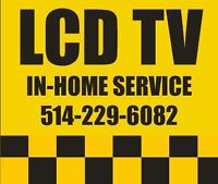 LCD and LED TV repair services : In-Home