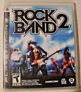 Rock Band 2 pour Playstation 3 (Jeux seulement)