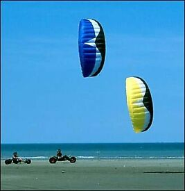 Kite buggy and kite