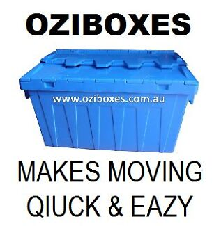 Plastic Moving Boxes Hire CHEAPER THAN CARDBOARD BOXES