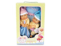 20CM CUTE & ADORABLE CHUBBY TWINS BABY DOLLS LIFE LIKE TWIN BABIES WITH CLOTHES