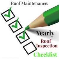 No roof is maintenance free, book now for a roof check-up