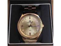 Alexandra Bellezza Milano All Gold Watch RRP £300+