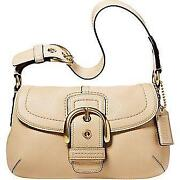 Coach Soho Leather Flap