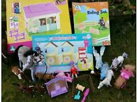 horse pony stables toys