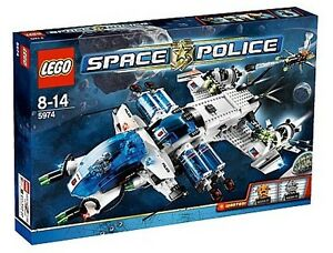 LEGO: Space Police Galactic Enforcer Set 5974 BRAND NEW RETIRED