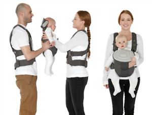MAMAS & PAPAS MORPH Pod and Harness baby carrier - Like New!