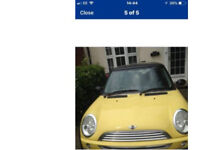 Yellow mini 1.6 for sale. Good condition