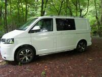 2010 VW TRANSPORTER T5 T28,102 TDI SWB 62,726 MILES,COLOUR CODED,BONDED LEATHER