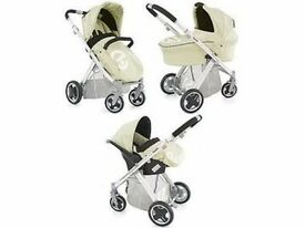 Oyster pearl pram system 3 in 1