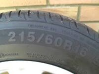 215 60 R16 tyres wanted