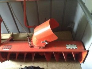 """case ingersoll tractor snow blower caster thrower 48"""" $200 obo"""