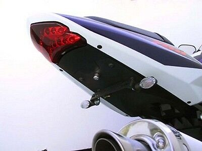Targa Tail Kit W  Turn Signals Black 2004 2005 Suzuki Gsx R600 R750   22 352 L