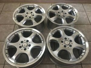 "Stunning Set of Genuine Mercedes BBS 2 pce 18"" rims showrm cond"
