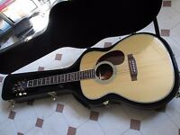 Crafter T 035 acoustic guitar, almost unused, plus hard case