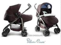 Silver cross 3D Vogue iced chocolate pram / pushchair, GREAT CONDITION
