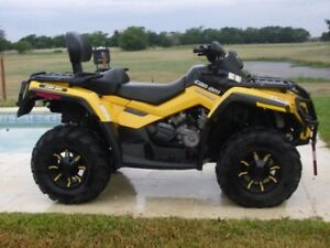 2012 Bombardier/ Can am Outlander 650XT Max EPS  2-UP
