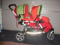 jane powertwin pro double pushchair