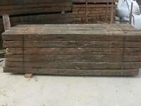 Railway sleepers free local delivery in hull