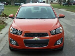 2012 Chevy Sonic LT *Price Negotiable*