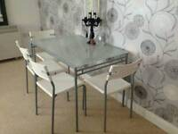Free ikea dining table and chairs