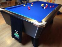 Supreme Winner Slate Bed Pool Table - Logo Cloth Option Full Re-furb - Del. & Install available LOOK