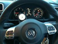 Stack clock with steering cowl vw scirocco golf passat gti