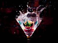 ** savvy FEMALE BARTENDER & SERVER for HIRE P/T or F/T **