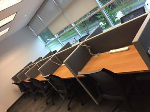 Office Cubicles Furniture Boardroom Reception Desk Chairs