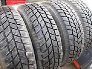 SNOW TIRES 205/70/15 HANKOOK SET OF FOUR $280.00 (1PHVG26081)