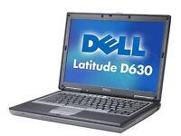 DELL LATITUDE D630 LAPTOP NOTEBOOK WINDOWS 10 OFFICE - SILVER LID