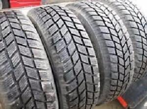 Snow Tires 205/70/15 HANKOOK set of four $280.00 (1PHVG26081) Midland ON.