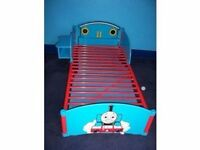 Thomas the tank engine kids' bed, chest of drawers and wardrobe