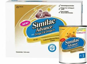 similac advance concentrate with omega 3 & omega 6