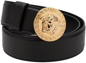 BRAND NEW**VERSACE BELT TOP QUALITY**Leather/Stamped Belt x