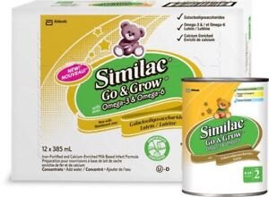 Similac go and grow concentrate