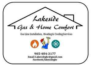 Gas Line Installation, Heating and Cooling Services