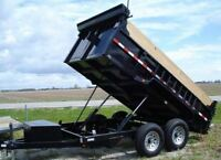 Dump Trailer Rental Calgary- Call Now for Best Price