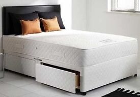 """SamedayFree Delivery** King size 10"""" Orthopeadic Bed And Mattress - Double and Single avialable"""